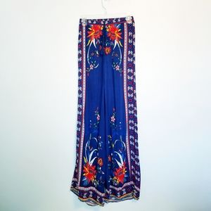 Flying Tomato wide leg high waist printed pants